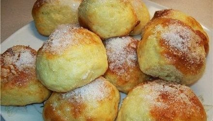 Творожные булочки за 15 минут. Чудесный завтрак!