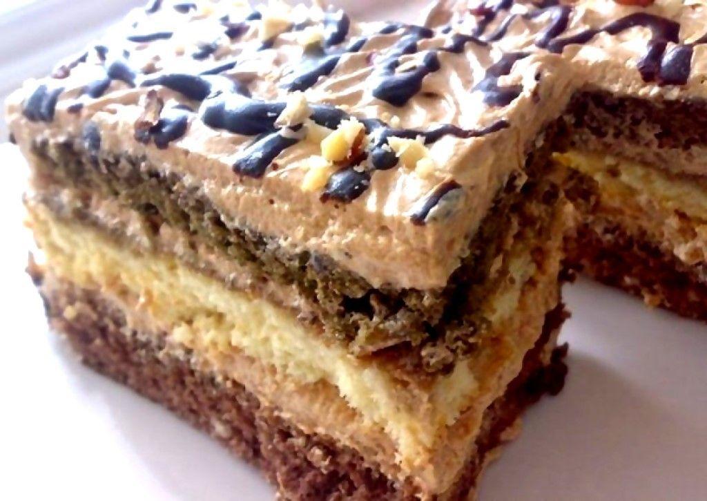 Торт Мечта жизни: Ну, очень вкусный торт! Готовится легко и быстро!
