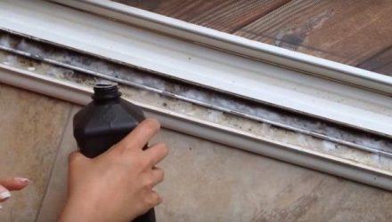 Как за несколько секунд сделать окна и раздвижные двери чистыми!