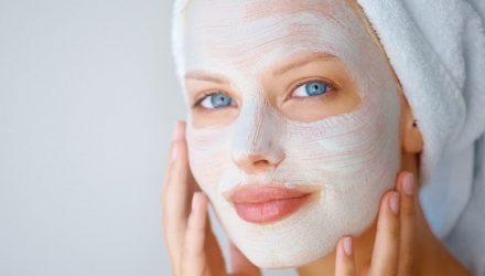 Рисовая маска для продления молодости кожи лица