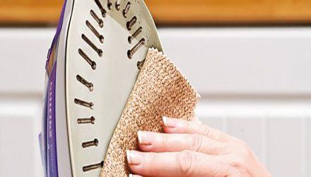 Как почистить утюг от пригара в домашних условиях