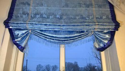 Как сшить рулонную штору легко и дёшево (Шитье и крой)