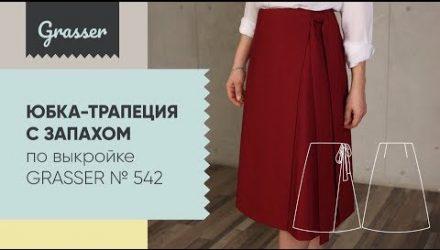 Как сшить юбку с запахом (Шитье и крой)