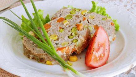 Мясной хлеб «Конфетти»