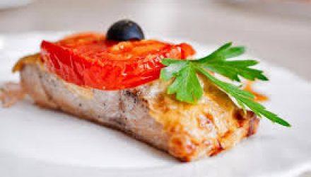 Рыба в духовке по гречески