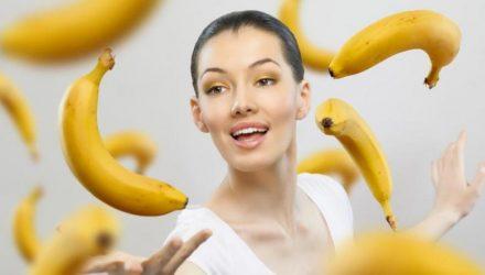 Банан избавит от морщин — 4 рецепта!