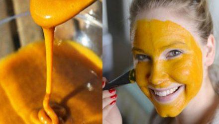 Куркума — мощнейшее средство для омоложения кожи. Маски из куркумы