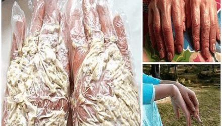Секретный трюк для идеальной кожи рук: омолаживающая «каша» из 3 ингредиентов!