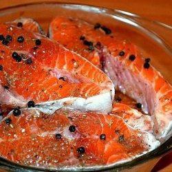 Солим рыбу вкусно!