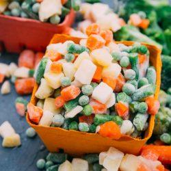 Хранение овощей: Заморозка на зиму