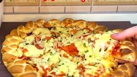 Пицца-пирог «Румяные бортики»? Невероятно вкусная с ярким ароматом