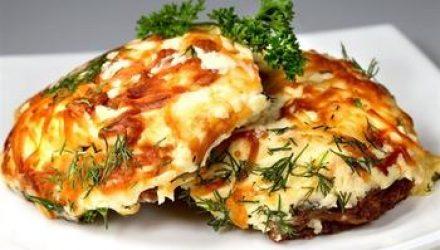 Рыба в сырно-картофельной «шубе»