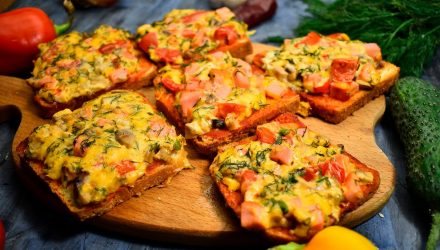 Горячие бутерброды «Мини-Пицца»
