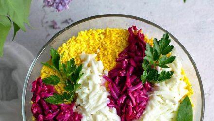 Салат «Цветущая Сирень»
