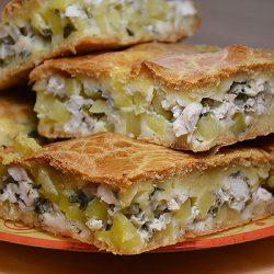Пирог на майонезе — с любой начинкой — вкусно и быстро!