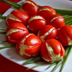 Салат «Тюльпаны»