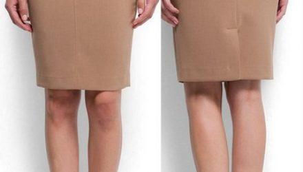 Построение юбки прямого силуэта