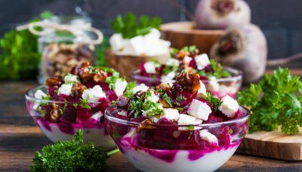 Салат «Свекла с йогуртом»